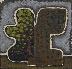 Två Träd by Serge CHARCHOUNE
