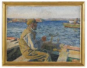 Fiskare by Carl WILHELMSON