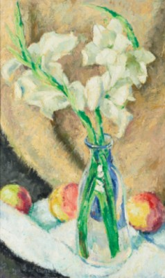 Vase De Fleurs by Georges Anatolievich POGEDAIEFF
