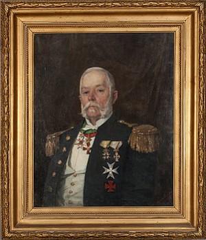 Militärt Porträtt by Anna NORDGREN