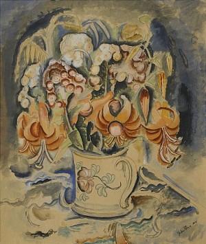 Blomsterstilleben by John STEN