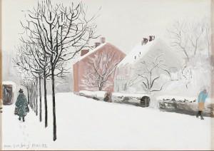Vinterstad by Sven LJUNGBERG