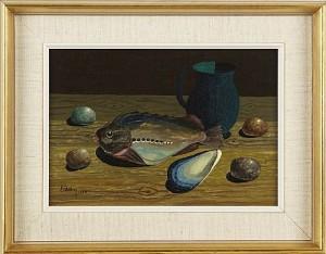 Stilleben Med Fisk by Eric CEDERBERG