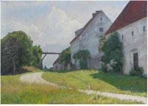 Motiv Från Slite, Gotland by Herman LINDQVIST