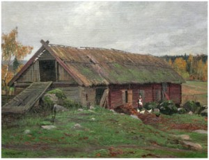 Höstdag I Sörmland by Alexander 'Alex' LANGLET