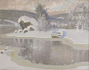 Rimfrost På Is by Gustaf FJÆSTAD