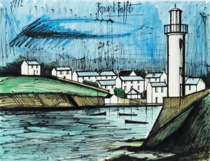 Port Breton by Bernhard BUFFET