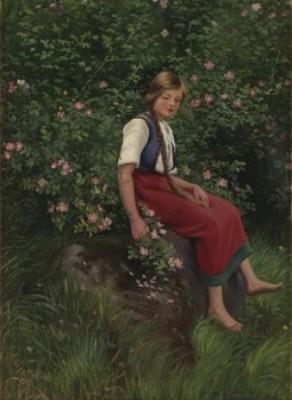 Flicka I Rosensnår by Emma Pastor NORMANN