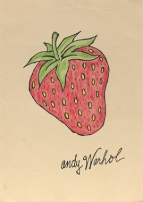Strawberry by Andy WARHOL