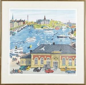 Utsikt Mot Nordiska Muséet by Mona HUSS WALLIN