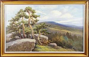 Landskap, Signerad E. Johansson by Arthur HEICKELL