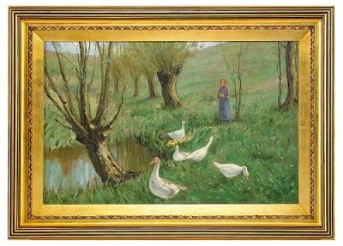 The Shepherdess by Konstantin Semionovich VYSOTSKY