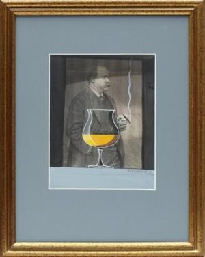 Komposition Med Cognac by Bo Erik 'Bo E.' LUNDQVIST