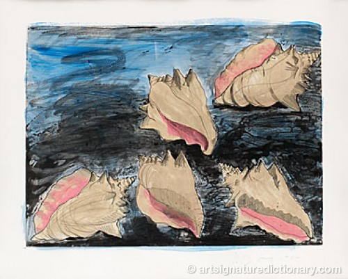 Five Shells by Jim DINE