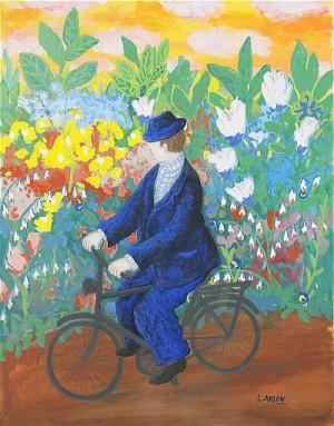 Cyklisten by Lennart JIRLOW