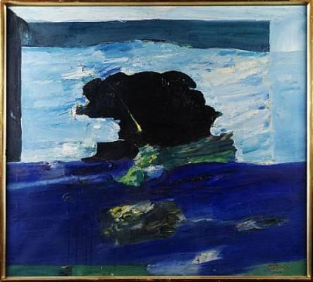 Svart Fläck På Havet by Olle CARLSTRÖM