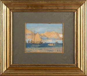 (2) Segelfartyg På Havet by Holger LÜBBERS