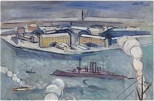 Utsikt Mot Skeppsholmen by Einar JOLIN