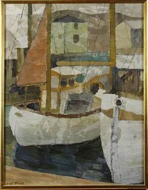 Båtar I Hamn, Smögen by Birgit FORSSELL