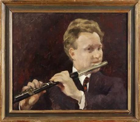 Carl Achatz (1901-74), Kungl Filharmonin by Eva BAGGE