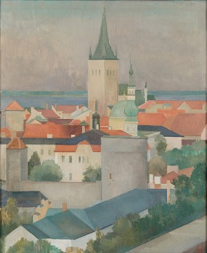 View From Tallinn by Ragnar EKELUND