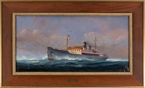 M/s Esbjerg. Kurs Mot Harwich by Thapani NORLING