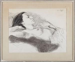 Vilande Kvinna by Curt CLEMENS