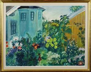 Trädgårdsmotiv by Evy LÅÅS