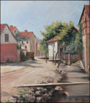 Aihe Haagin Thalesta by Helmi SJÖSTRAND