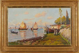 Venedigmotiv by Justus Evald LUNDEGÅRD