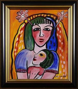 Kvinna Med Barn by Ulrica HYDMAN-VALLIEN