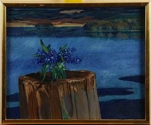 Blå Blommor by Jörgen ZETTERQUIST