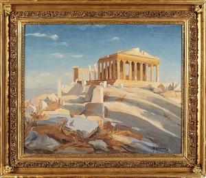 Akropolis by Mikhail Filippovich IVANOV