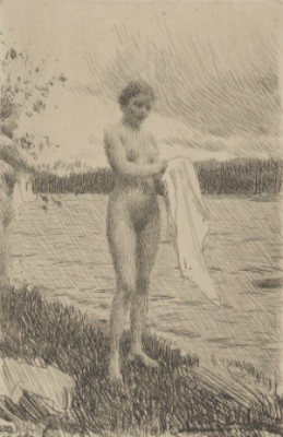 The Dal River by Anders ZORN