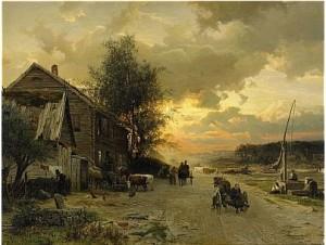 Dagen Gryr by Gustaf RYDBERG