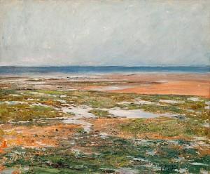 Strandmotiv Från Luc-sur-mer by Carl Fredrik HILL