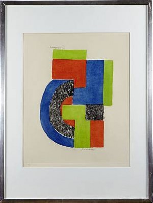 Komposition by Sonia DELAUNAY