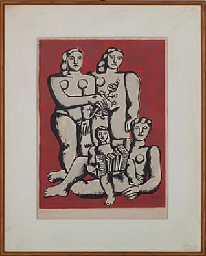 Familjen by Fernand LEGÉR