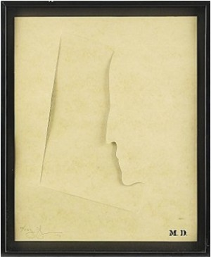 M. D. by Jasper JOHNS