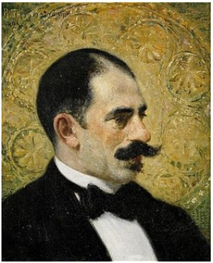 Porträtt Troligen Av Otto Hirsch (sr.) by Robert THEGERSTRÖM