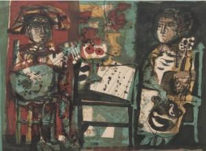 Les Musicians by Antoni CLAVÉ
