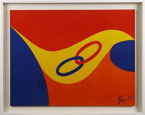 Komposition, Frendschip Colors by Alexander CALDER