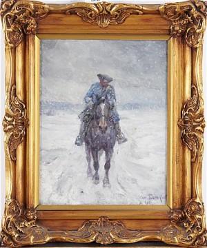 Karolin Till Häst by Alexander 'Alex' LANGLET