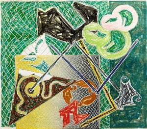 Shards V by Frank STELLA