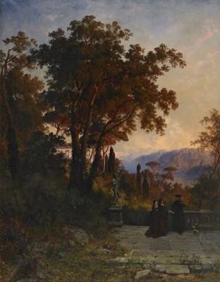 Utsikt Vid Isola Madre, Lago Maggiore - Italien by Edward BERGH