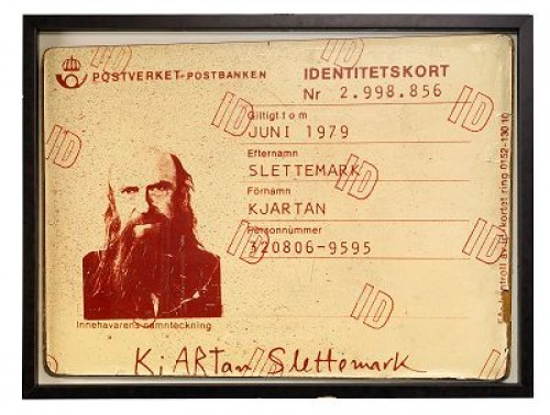Idiot-kortet by Kjartan SLETTEMARK