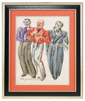 Costume Design by Georges Anatolievich POGEDAIEFF