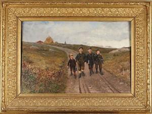 Skolpojkar by Emil ÅBERG