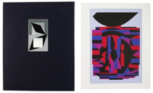 (10) Composition. Portfolio by Victor VASARELY