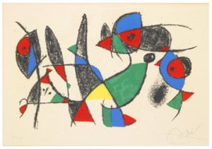 "Untitled From ""joan Miró Lithographe Ii by Joan MIRO"